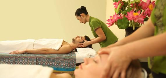 Тайландски арома масаж на четири ръце